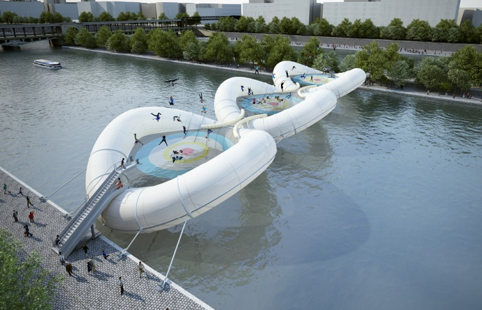 Paris Trampoline Bridge