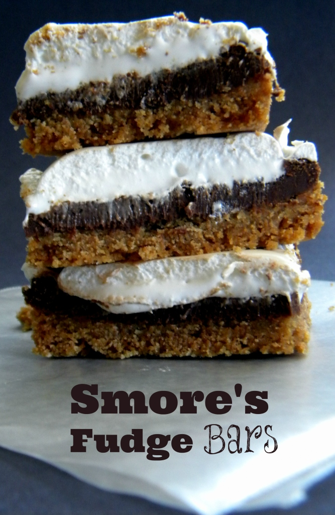 Smore's Fudge Bars